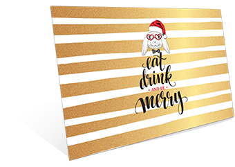 X'mas - Eat, Drink & Be Merry